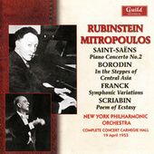 Rubinstein & Mitropoulos - Carnegie Hall 1953 by Various Artists