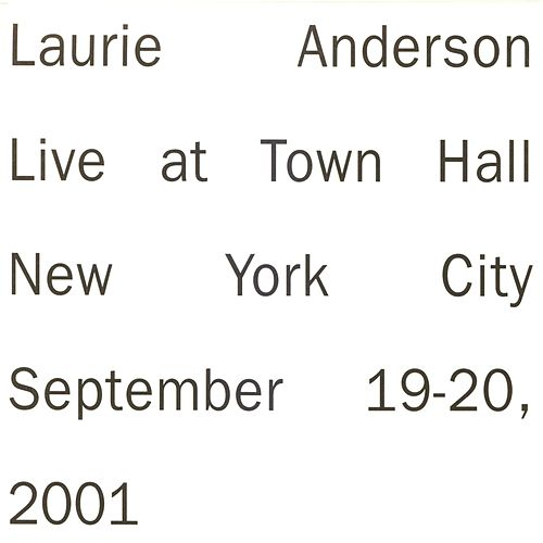 Live in New York von Laurie Anderson