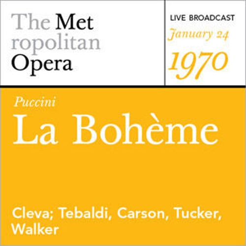 Puccini: La  Bohème (January 24, 1970) by Various Artists