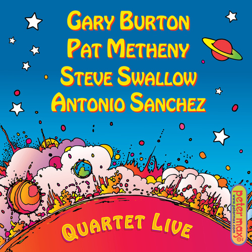 Quartet Live! by Pat Metheny