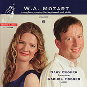 Mozart: Complete Sonatas for Keyboard and Violin Volume 6 by Gary Cooper