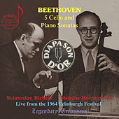 Beethoven: The Five Sonatas for Cello and Piano by Sviatoslav Richter