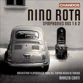 ROTA, N.: Symphonies Nos. 1-2 (Torino Regio Theatre Orchestra, Conti) by Marzio Conti