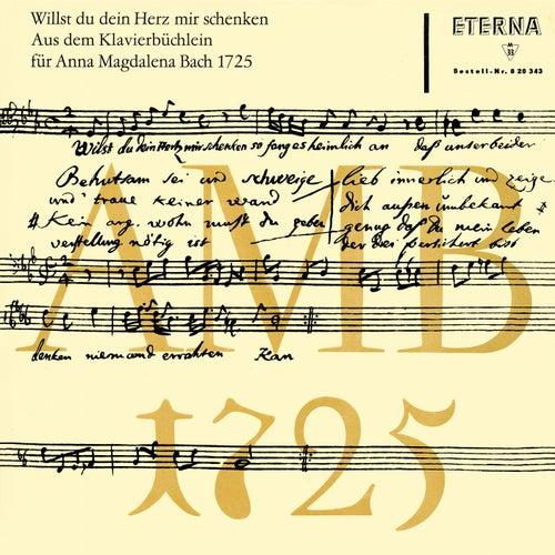 Bach: Klavierbüchlein für Anna Magdalena Bach 1725 by Various Artists
