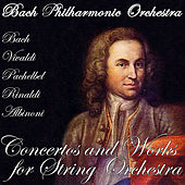 Bach - Vivaldi - Pachelbel - Rinaldi - Albinoni: Concertos and Works for String Orchestra by Bach Philharmonic Orchestra