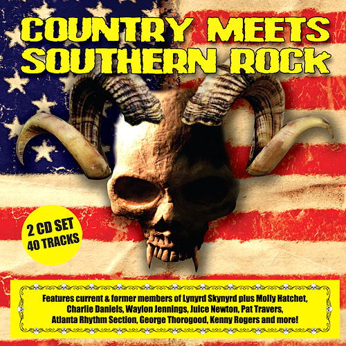 Country Meets Southern Rock by Various Artists