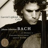 Johann Sebastian Bach: 6 Suites A Violoncello Solo Senza Basso (Suites For Cello Solo) by Gavriel Lipkind