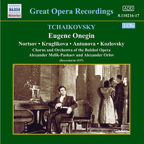 Eugene Onegin by Pyotr Ilyich Tchaikovsky