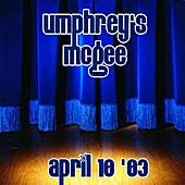 04-10-03 - The Music Farm - Charleston, SC by Umphrey's McGee