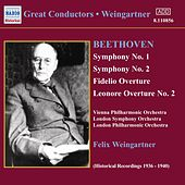 Symphonies Nos. 1 and 2 by Ludwig van Beethoven