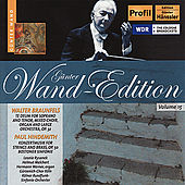 Günter Wand Edition, Vol. 15 by Kölner Rundfunk Sinfonie Orchester