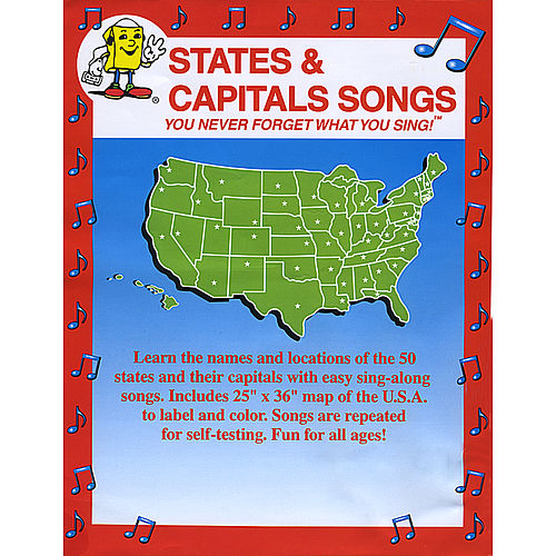 States and Capitals Songs by Kathy Troxel