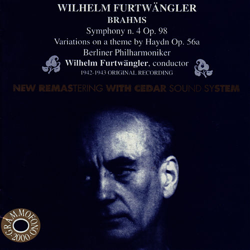 Wilhelm Furtwängler Conducts Brahms by Berliner Philharmoniker