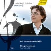 Bartholdy: String Symphonies Nos. 1, 2, 3, 4 & 9 by Heidelberger Sinfoniker