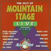 The Best Of Mountain Stage Live, Vol. 5 by Various Artists