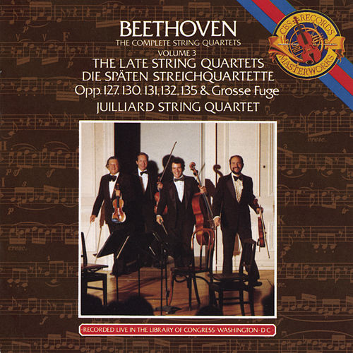 Beethoven: The Late String Quartets by Various Artists