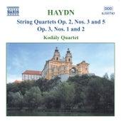 String Quartets, Op. 2 by Franz Joseph Haydn