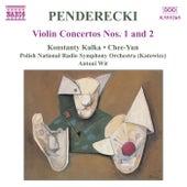 Violin Concertos Nos. 1 and 2 by Krzysztof Penderecki