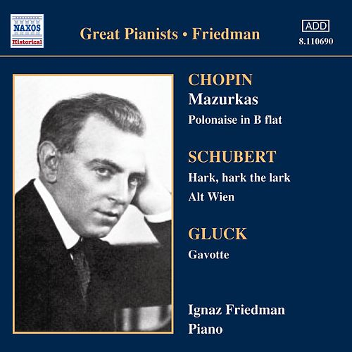 Complete Recordings Vol 3 by Ignaz Friedman