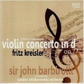 Brahms: Violin Concerto in D, Op. 77 by Fritz Kreisler