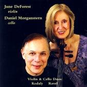 Kodaly & Ravel Violin & Cello Duos by Daniel Morganstern