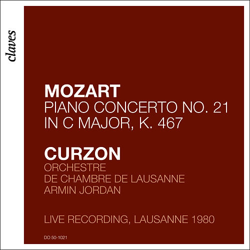Clifford Curzon - Mozart 21 by Clifford Curzon