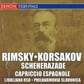 Rimsky-Korsakov: Scheherazade; Capriccio Espagnole by The Slovak Philharmonic