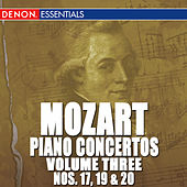 Mozart: Piano Concertos - Vol. 3 - No. 17, 19 & 20 by Various Artists