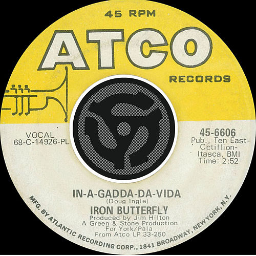 In-A-Gadda-Da-Vida / Iron Butterfly Theme [Digital 45] by Iron Butterfly