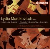 Violin and Viola Music (Russian) – KABALEVSKY, D.B. / VOLKONSKY, A. / KHANDOSHKIN, I. / PROKOFIEV, S. / STRAVINSKY, I. (Mordkovitch) by Lydia Mordkovitch