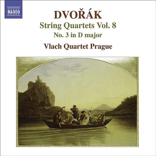 DVORAK, A.: String Quartets, Vol. 8 (Vlach Quartet) - No. 3 by Vlach Quartet Prague