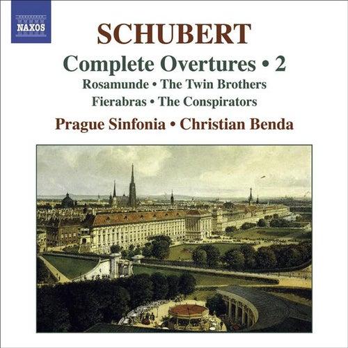 SCHUBERT, F.: Overtures (Complete), Vol. 2 (Prague Sinfonia, Benda) by Christian Benda