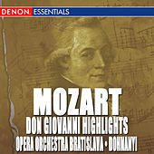 Don Giovanni Highlights - Overture and Arias by Oliver Dohnanyi