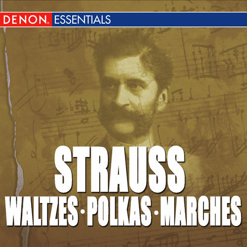 Great Strauss Waltzes, Polkas & Marches: Carl Michalski & The Viennese Folk Opera Orchestra by Orchestra of the Viennese Volksoper