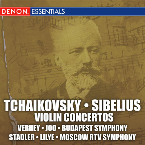 Tchaikovsky-Sibelius: Violin Concertos by Various Artists