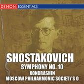 Shostakovich: Symphony No. 10 by Kyril Kondrashin