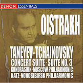 Taneyev: Concert Suite - Tchaikovsky: Suite No. 3 by Various Artists