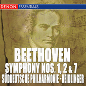 Beethoven: Symphony Nos. 1, 2 & 7 by Suddeutsche Philharmonie