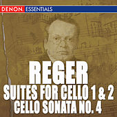 Reger: Cello Works by Kirsti Hjort
