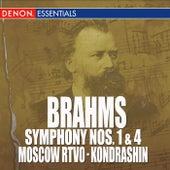 Brahms: Symphony Nos. 1 & 4 by Moscow RTV Symphony Orchestra