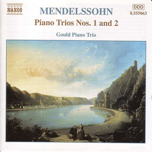 Piano Trios Nos. 1 and 2 by Felix Mendelssohn