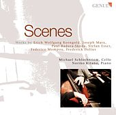 Cello Recital: Schlechtriem, Michael - KORNGOLD, E.W. / MARX, J. / BADURA-SKODA, P. / ESSER, S. / MOMPOU, F. / DELIUS, F. by Noriko Kitano