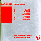 Ragtime/Paganini: 24 Capricees by Paul Zukofsky
