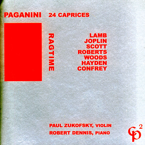 Ragtime/Paganini: 24 Capricees von Paul Zukofsky