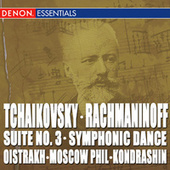 Tchaikovsky: Suite No. 3 - Rachmaninoff: Symphonic Dances by Kyril Kondrashin