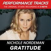 Gratitude (Premiere Performance Plus Track) by Nichole Nordeman