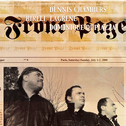 Front Page by Dennis Chambers