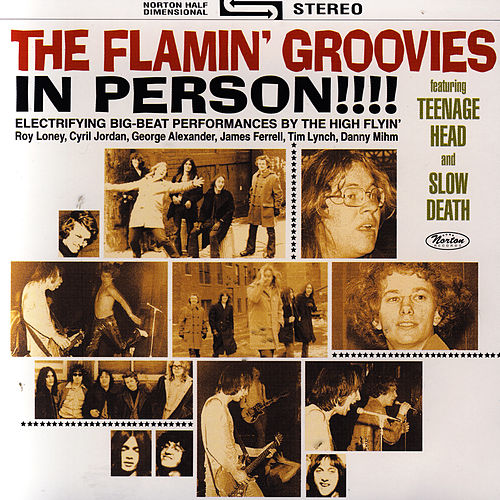 In Person!!! by The Flamin' Groovies