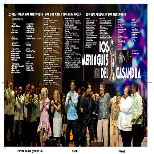 Los Merengues Del Casandra by Various Artists
