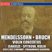 Mendelssohn, Bruch, Saint, Saens: Violin Concertos by Various Artists